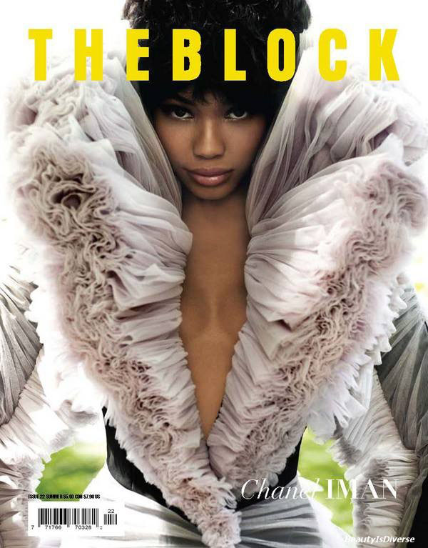 Chanel Iman for The Block Summer 2010 | First Look