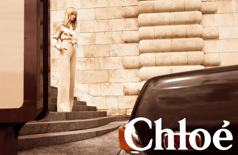 Chloé Fall 2010 Campaign | Raquel Zimmermann by Inez & Vinoodh