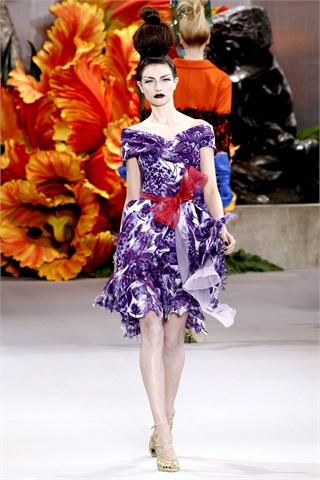 Christian Dior | Paris Haute Couture Fall 2010