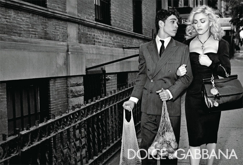 Dolce & Gabbana Fall 2010 Campaign   Madonna by Steven Klein