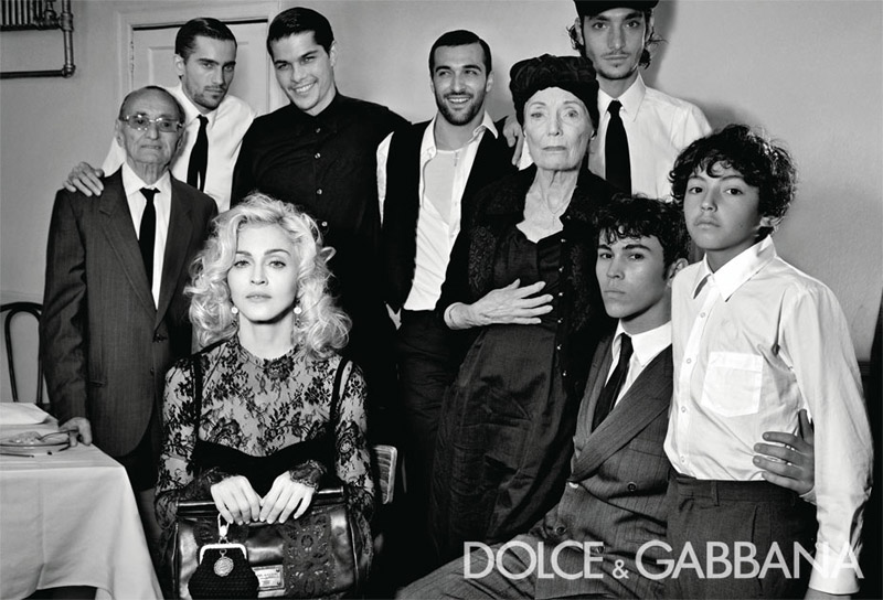 Dolce & Gabbana Fall 2010 Campaign | Madonna by Steven Klein