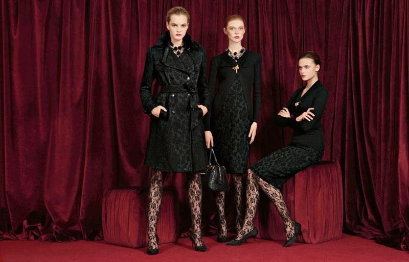Dolce & Gabbana Fall 2010   Vlada Roslyakova, Olga Sherer & Zuzana Gregorova