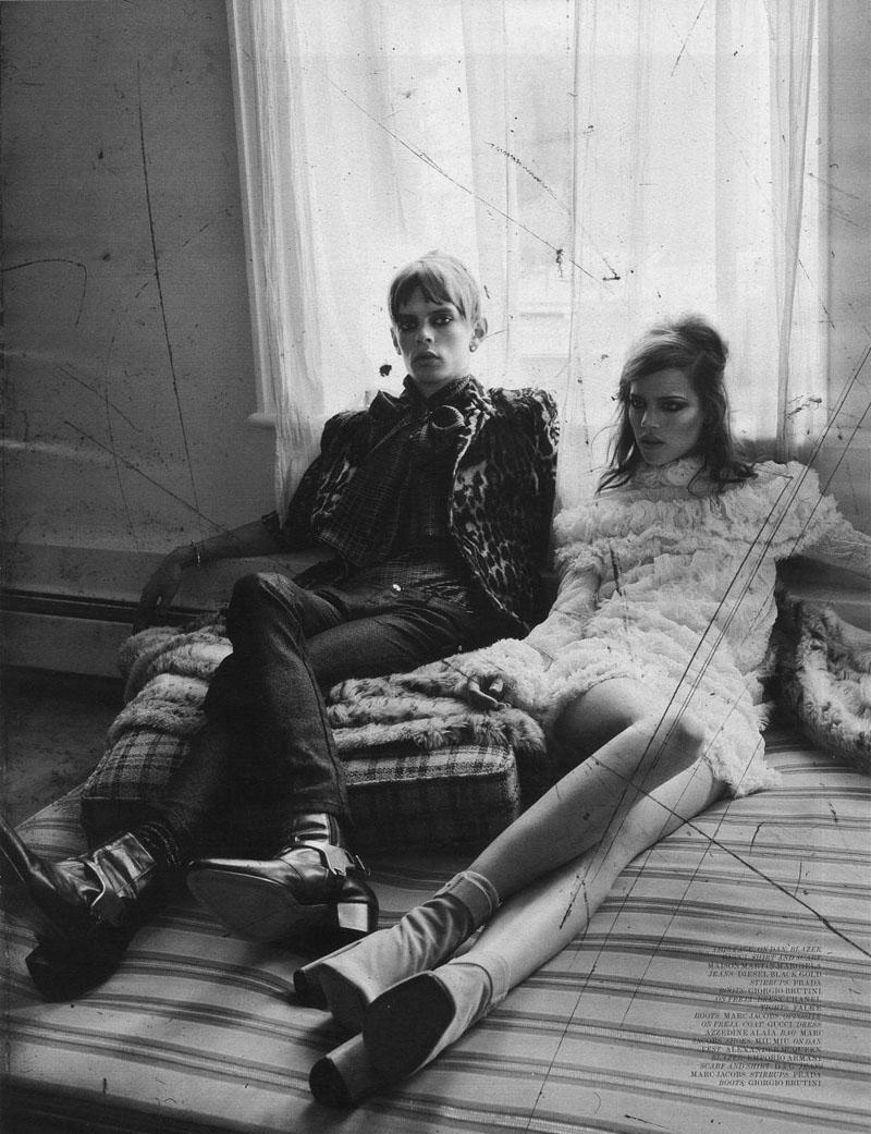 Freja Beha Erichsen in Modern Love by Craig McDean   Interview August 2010