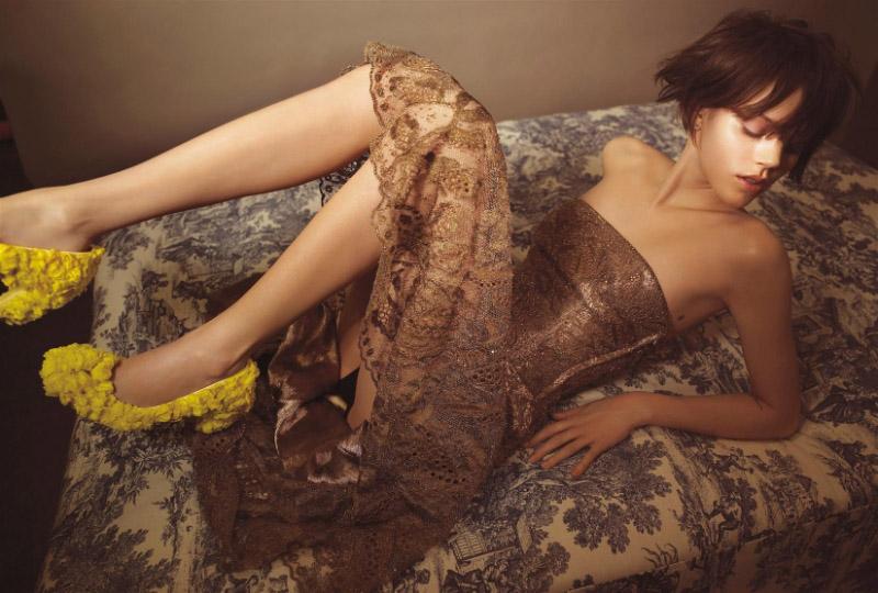 Morning Beauty | Freja Beha Erichsen by Glen Luchford