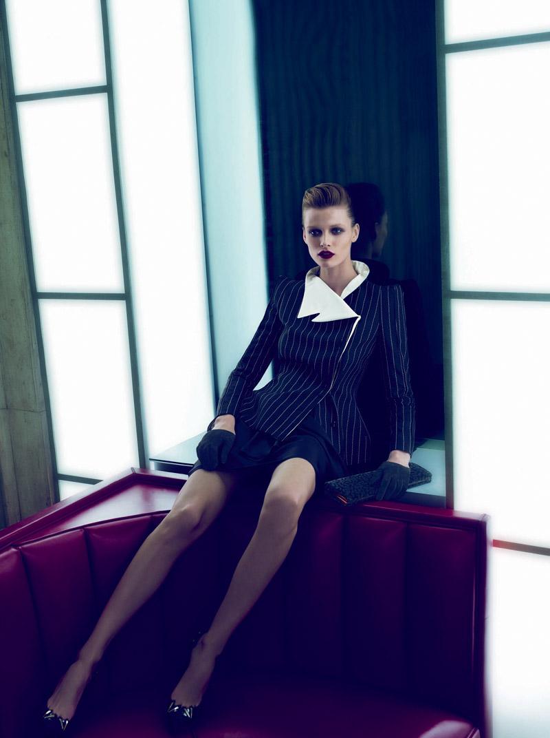 Giorgio Armani Fall 2010 Campaign | Edita Vilkeviciute by Mert & Marcus