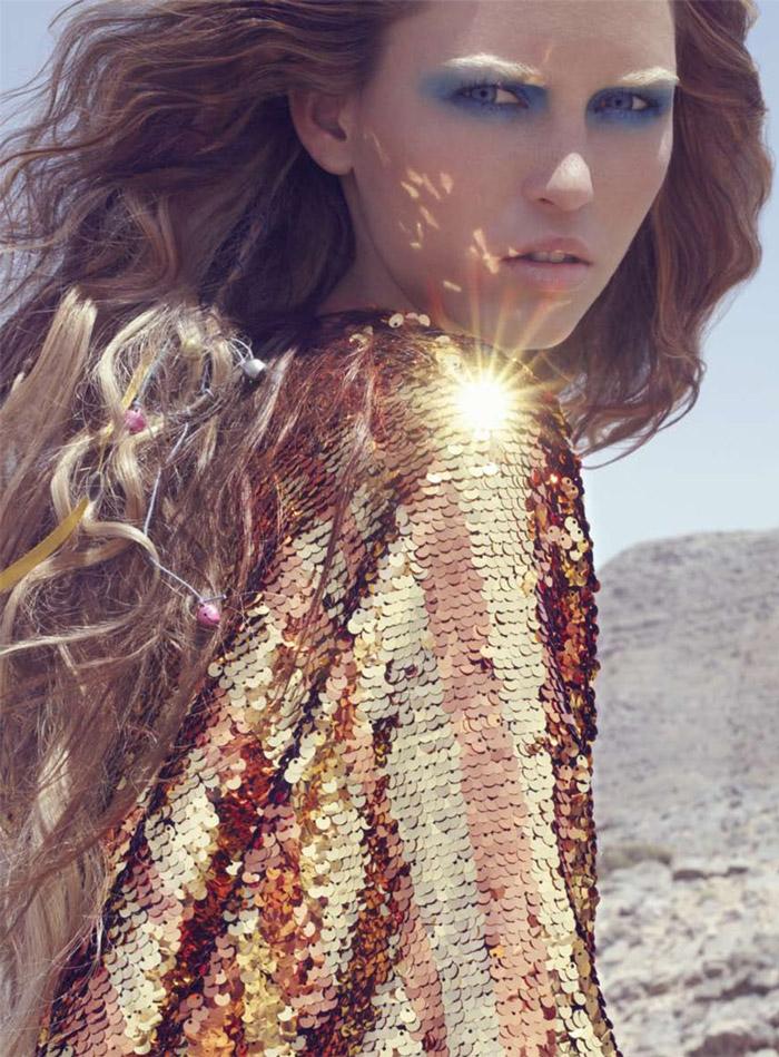 Harper's Bazaar Arabia July/August 2010 | Masha by Susanne Spiel