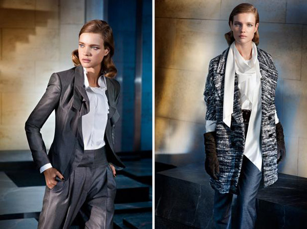 Hugo Boss Fall 2010 Campaign | Natalia Vodianova by Peter Lindbergh