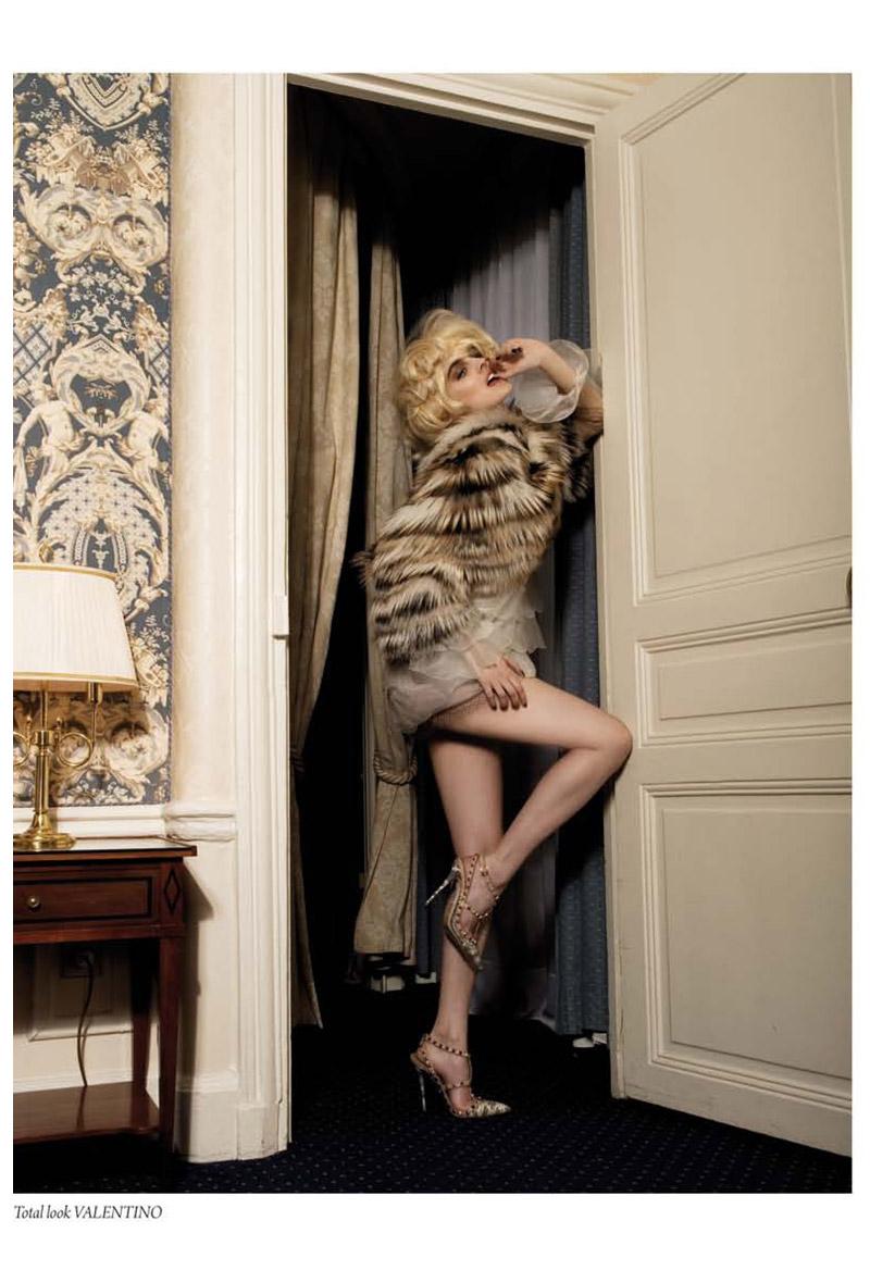 Noemie Merlant by Raphael Delorme & Thierno Sy for L'Officiel Ukraine September/October 2010