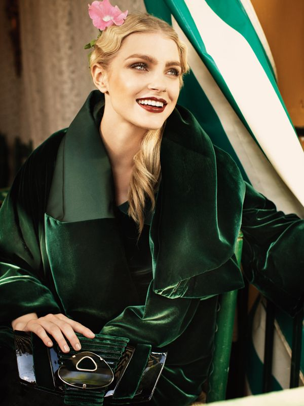 Jessica Stam for Harper's Bazaar US August 2010 by Alexi Lubomirski