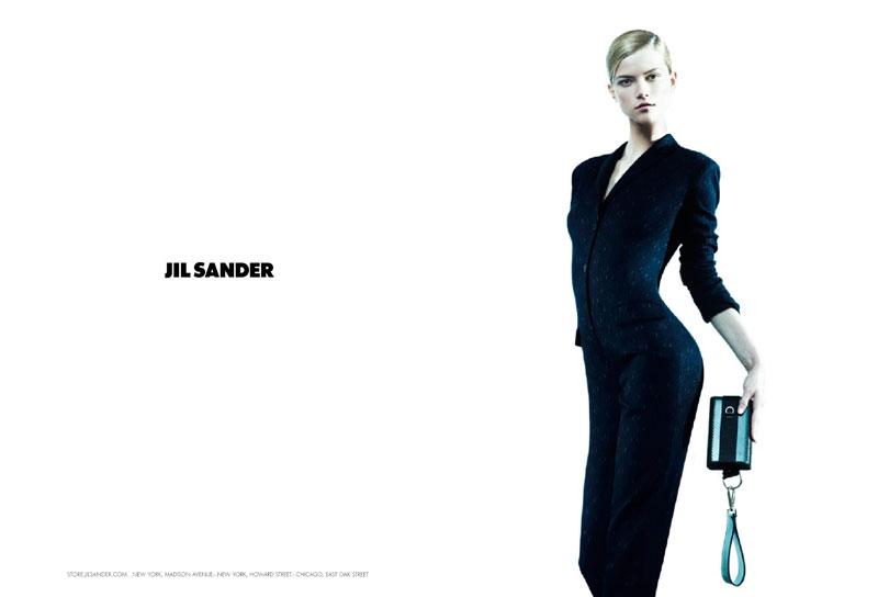 Jil Sander Fall 2010 Campaign   Miranda Kerr & Kasia Struss by Willy Vanderperre