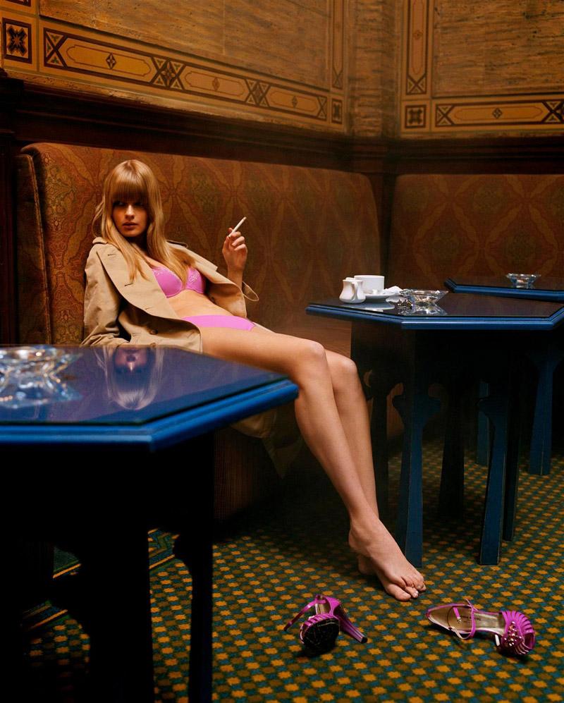 Morning Beauty | Julia Stegner by Steven Meisel