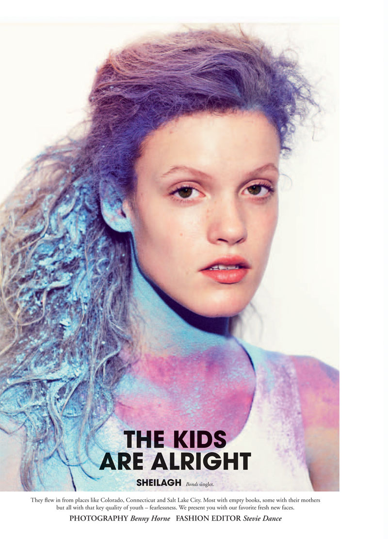 Russh #35 | The Kids Are Alright by Benny Horne