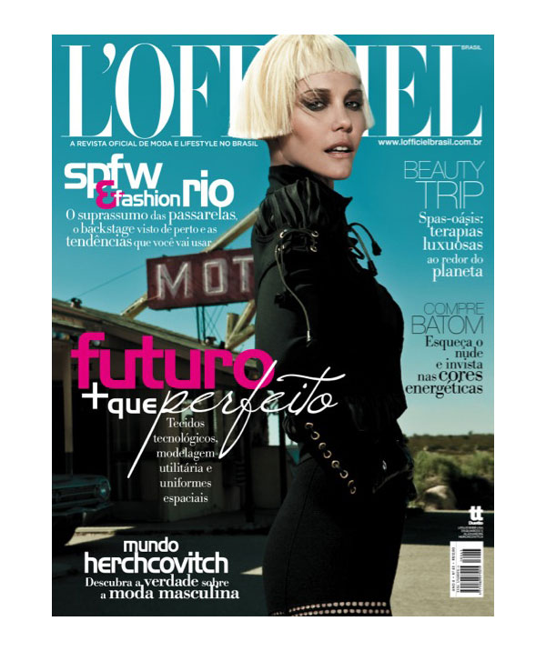Leslie Bibb for L'Officiel Brazil by Gomillion & Leupold