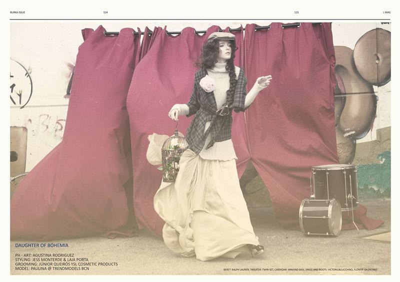 Libertarian Mag #3   Paulina M. by Agustina Rodriguez