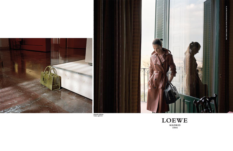 Alessandra Ambrosio, Rosie Huntington-Whiteley & Adriana Lima for Loewe Fall 2010 | Campaign