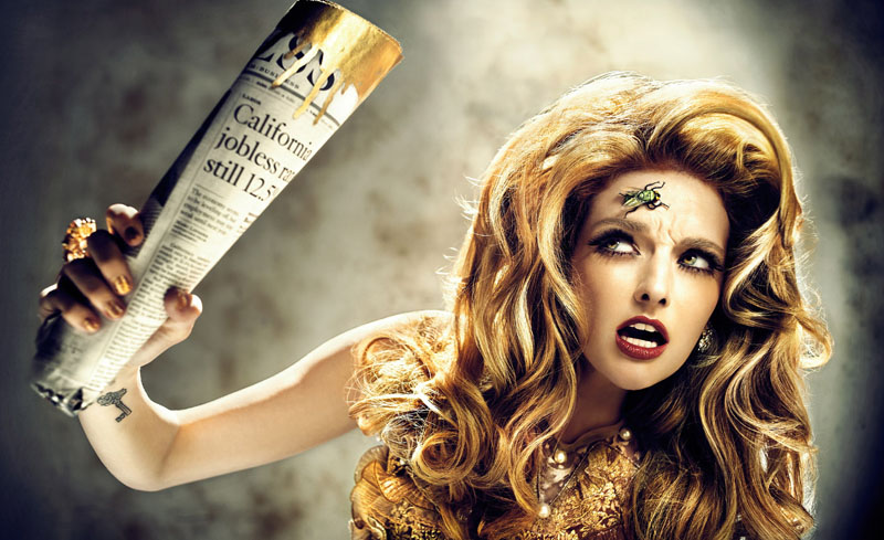 Lydia Hearst by BrakhaX2 for Genlux Magazine