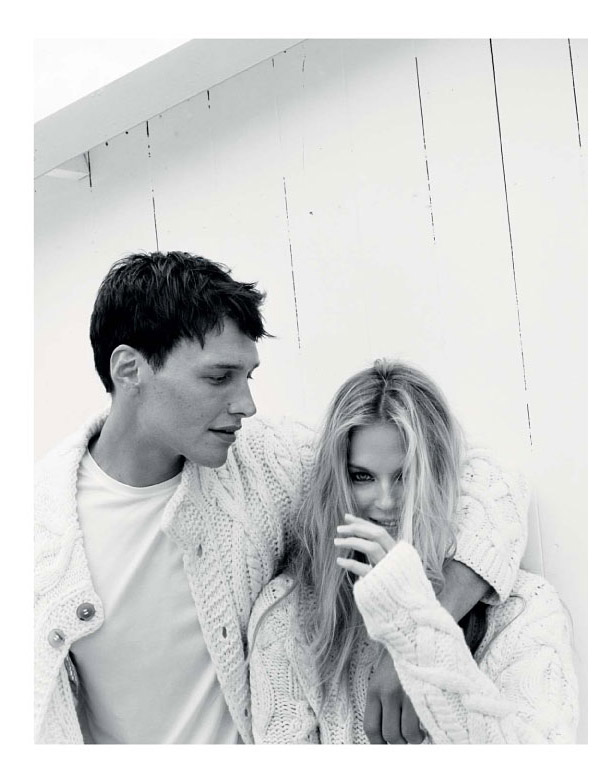 Shannan Click by Angelo Pennetta | Malo Fall 2010 Campaign