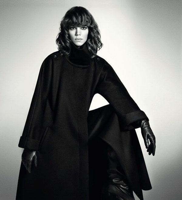 MaxMara Fall 2010 Campaign | Freja Beha Erichsen by Mario Sorrenti