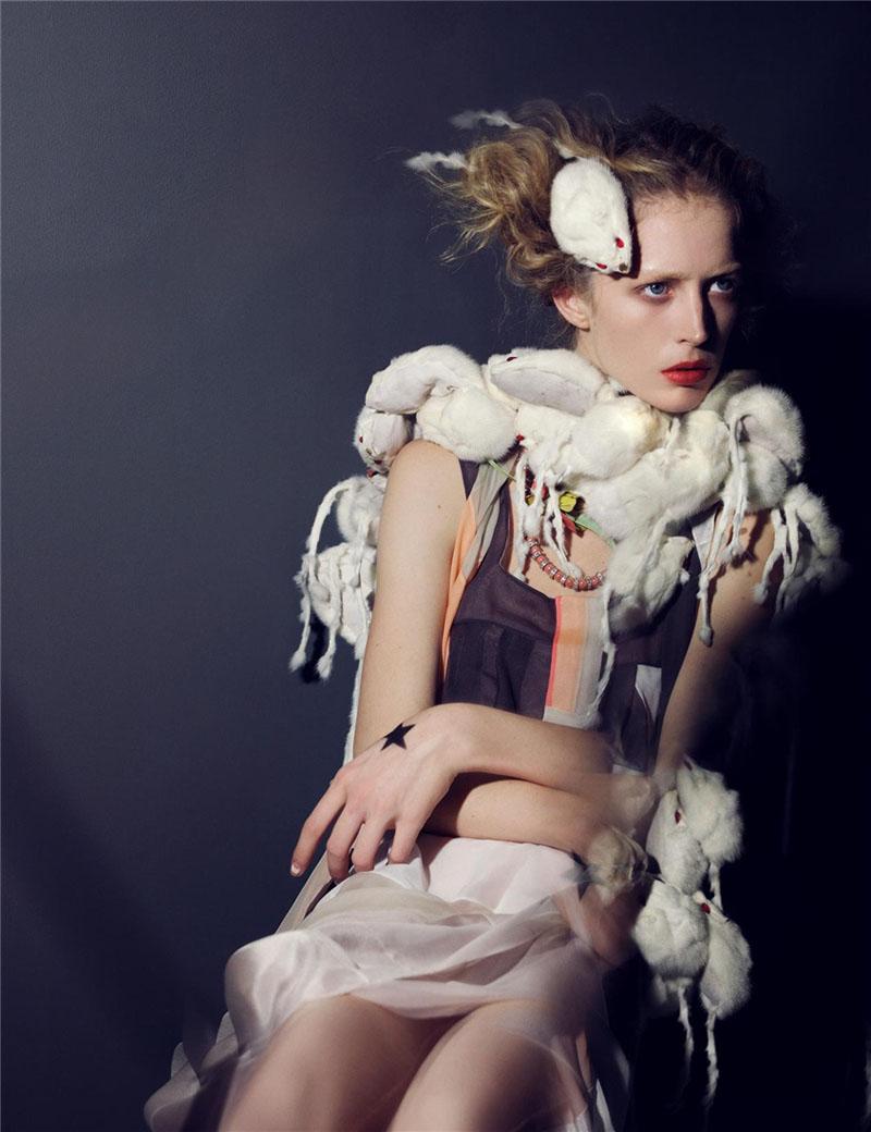 Morning Beauty | Raquel Zimmermann & Suvi Koponen by Craig McDean