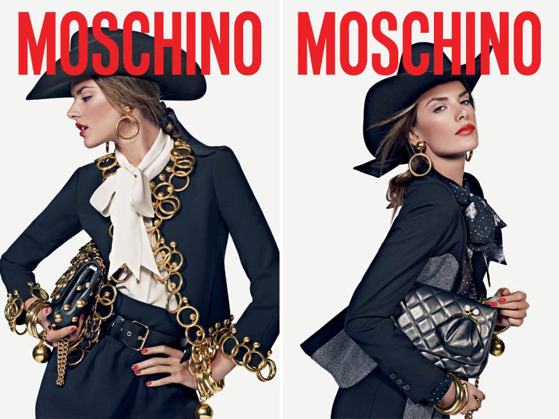 Moschino Fall 2010 Campaign | Alessandra Ambrosio by Inez & Vinoodh