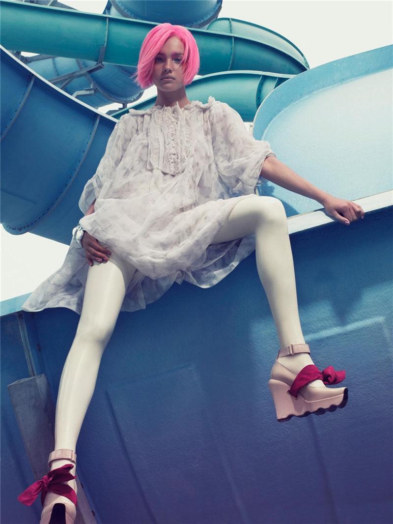 Morning Beauty   Natalia Vodianova by Craig McDean