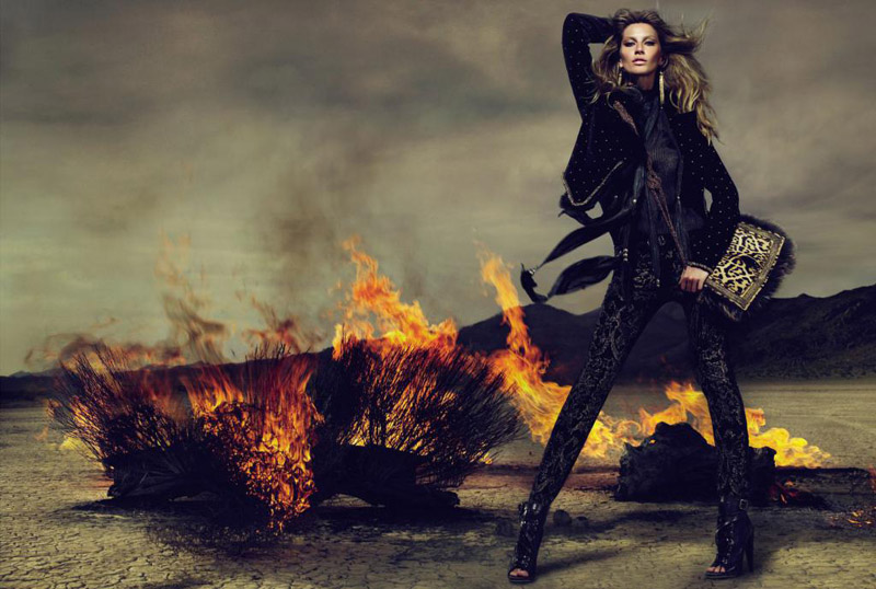 Roberto Cavalli Fall 2010 Campaign | Gisele Bundchen by Mert & Marcus