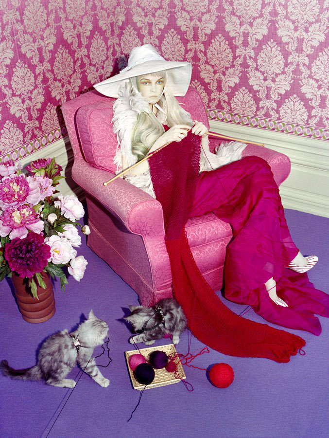 Morning Beauty | Siri Tollerod by Miles Aldridge