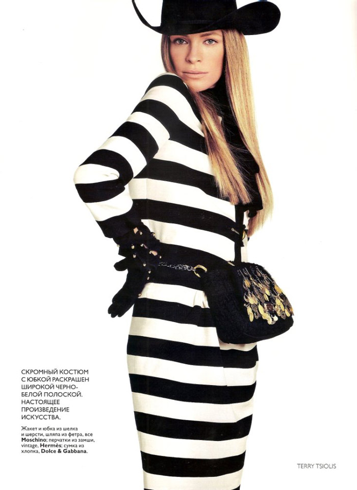 Tanga Moreau for Vogue Russia August 2010 by Terry Tsiolis