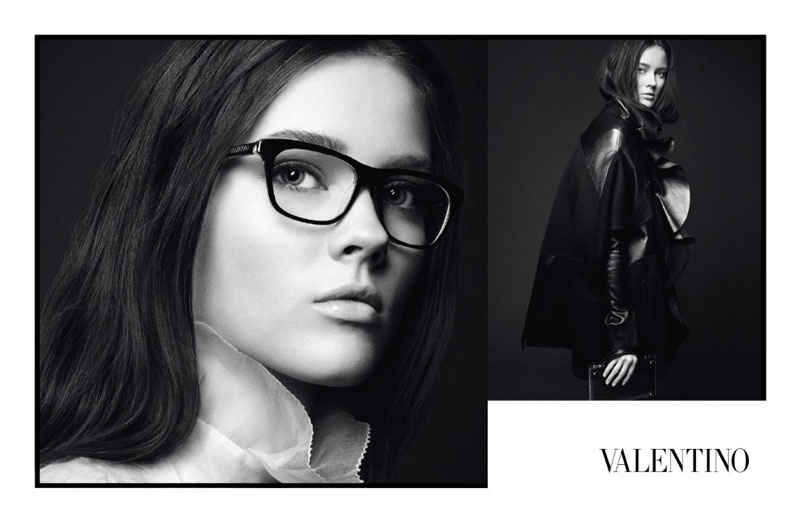 Valentino Fall 2010 Campaign   Freja Beha Erichsen, Monika Jagaciak & Tati Cotliar by David Sims
