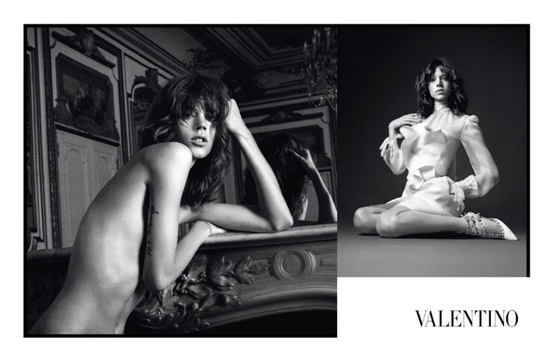 Valentino Fall 2010 Campaign | Freja Beha Erichsen, Monika Jagaciak & Tati Cotliar by David Sims