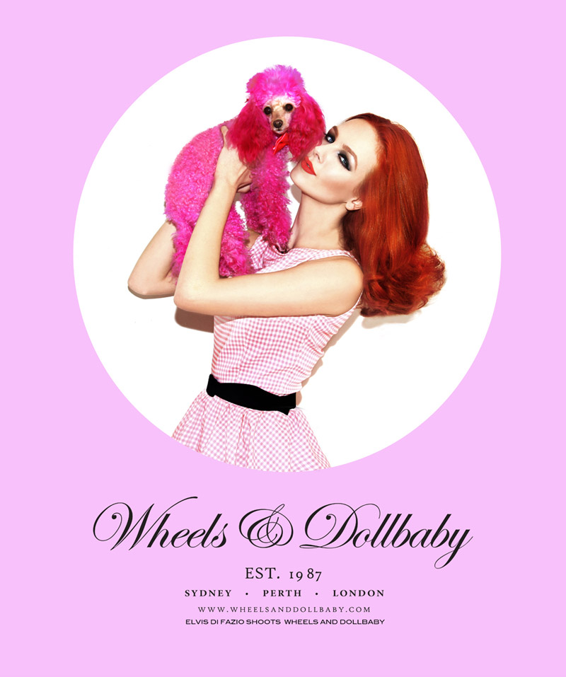 Tiah Eckhardt by Elvis Di Fazio for Wheels & Dollbaby Fall 2010 Campaign