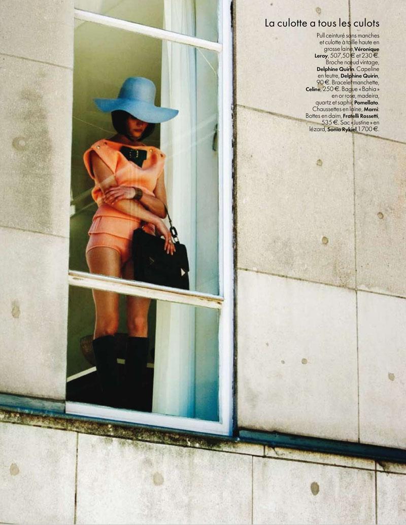Anouck Lepere for Elle Belgium September 2010 by Pablo Delfos