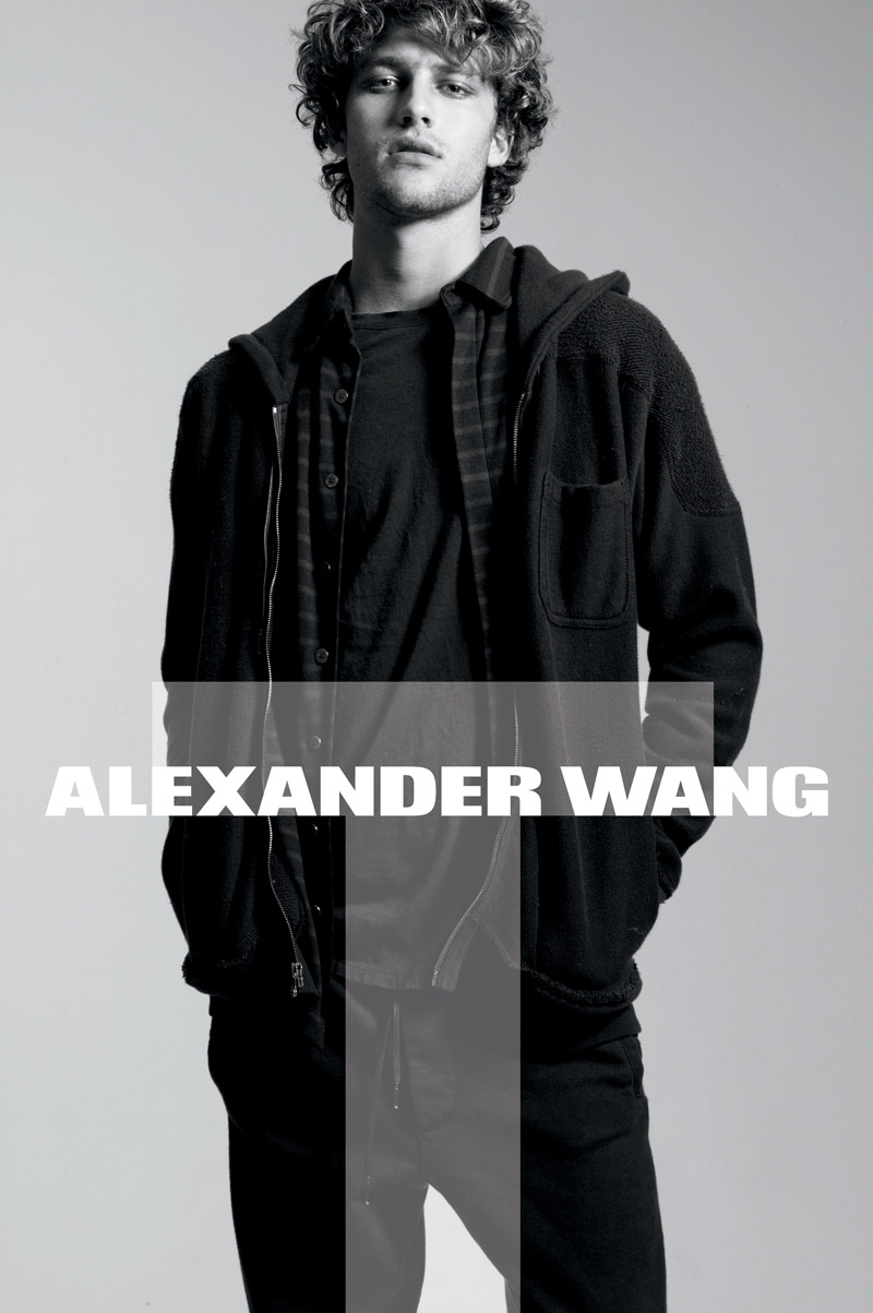 T by Alexander Wang Fall 2010 Campaign | Zoe Kravitz by Daniel Jackson
