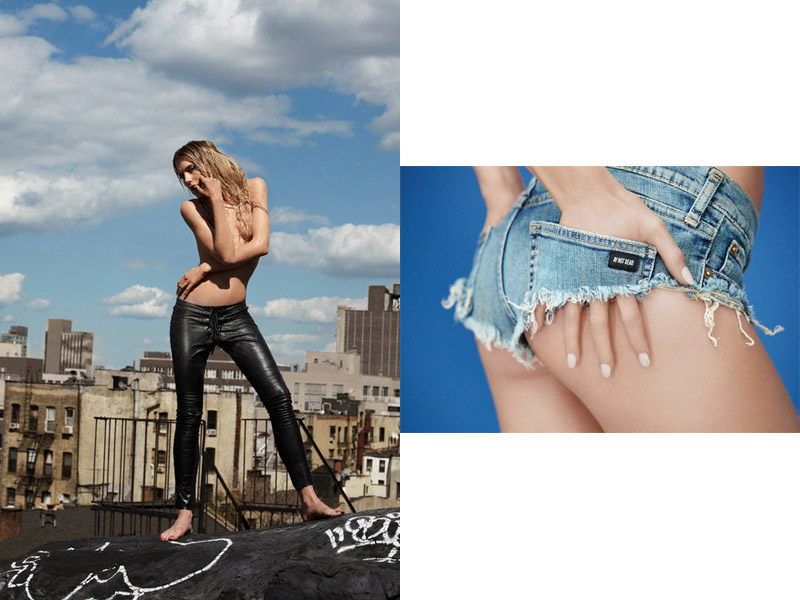 Dree Hemingway for A.Y. Not Dead Spring 2011 Campaign by Sebastian Faena