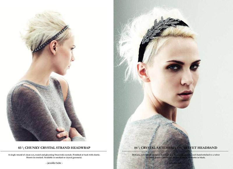 Jennifer Behr Fall 2010 Lookboook | Mollie Gondie by Benny Horne