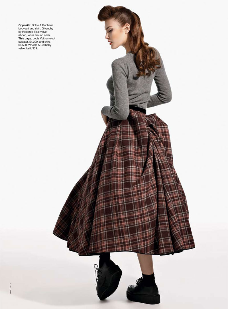 Catherine McNeil for Vogue Australia September 2010 by Max Doyle