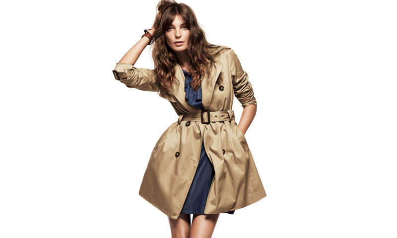 Daria Werbowy for H&M Fall 2010 Campaign