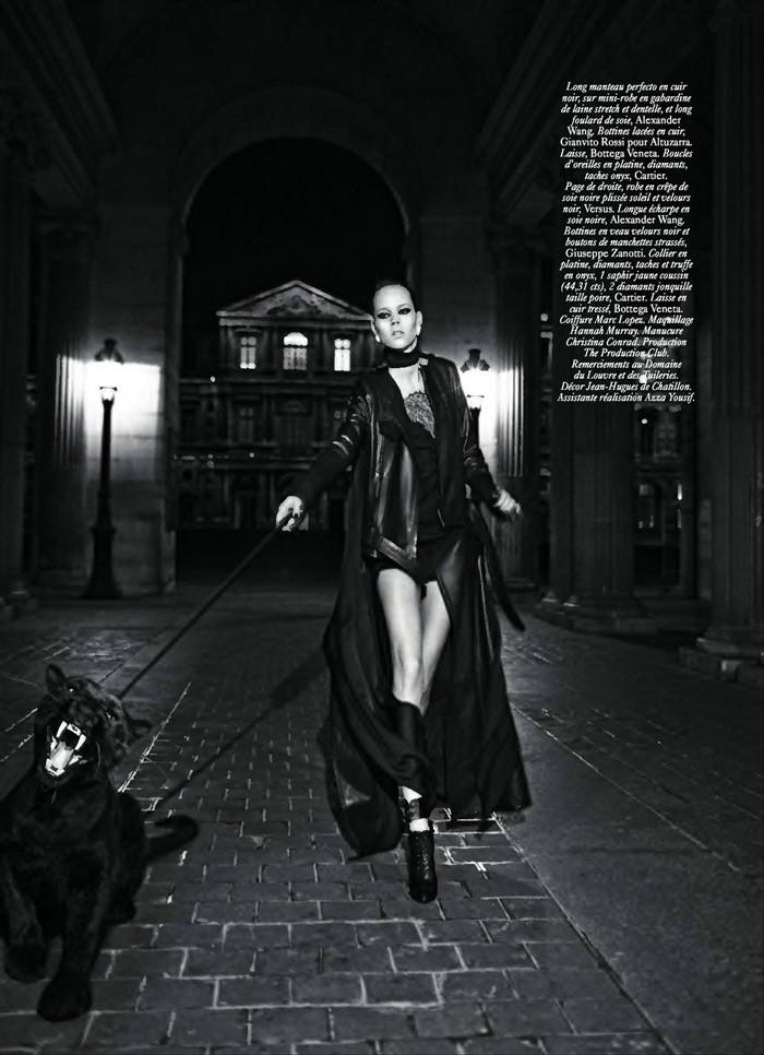 Freja Beha Erichsen by Mikael Jansson for Vogue Paris September 2010
