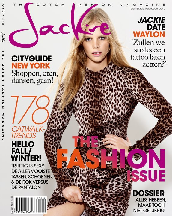 Marloes Horst by Marc de Groot for Jackie September/October 2010
