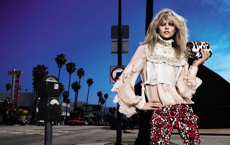 Just Cavalli Fall 2010 Campaign | Sasha Pivovarova by Mert & Marcus