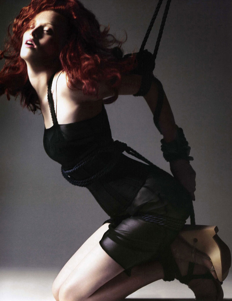 Morning Beauty | Karen Elson by David Sims
