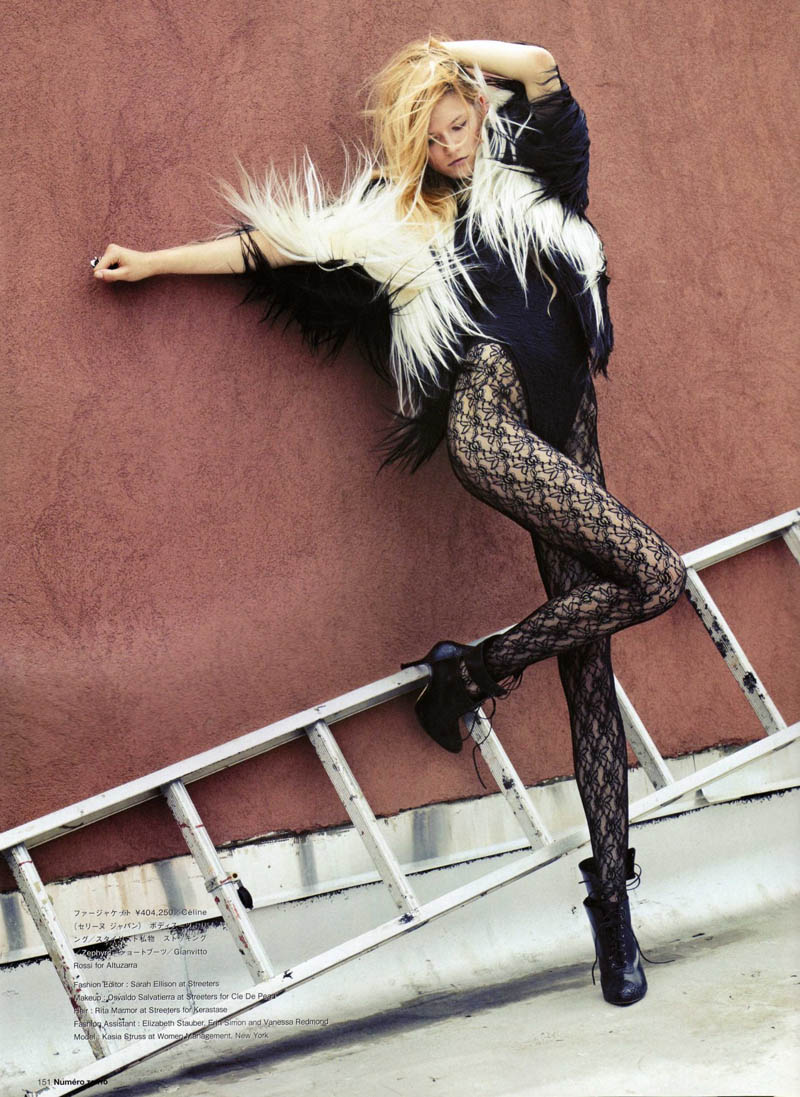Kasia Struss by David Vasiljevic for Numéro Tokyo September 2010