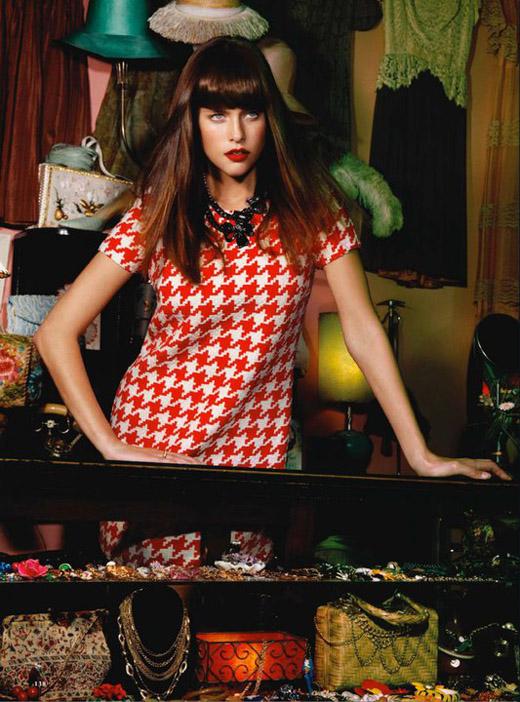 Kim Cloutier by Jamie Nelson for Cosmopolitan UK September 2010