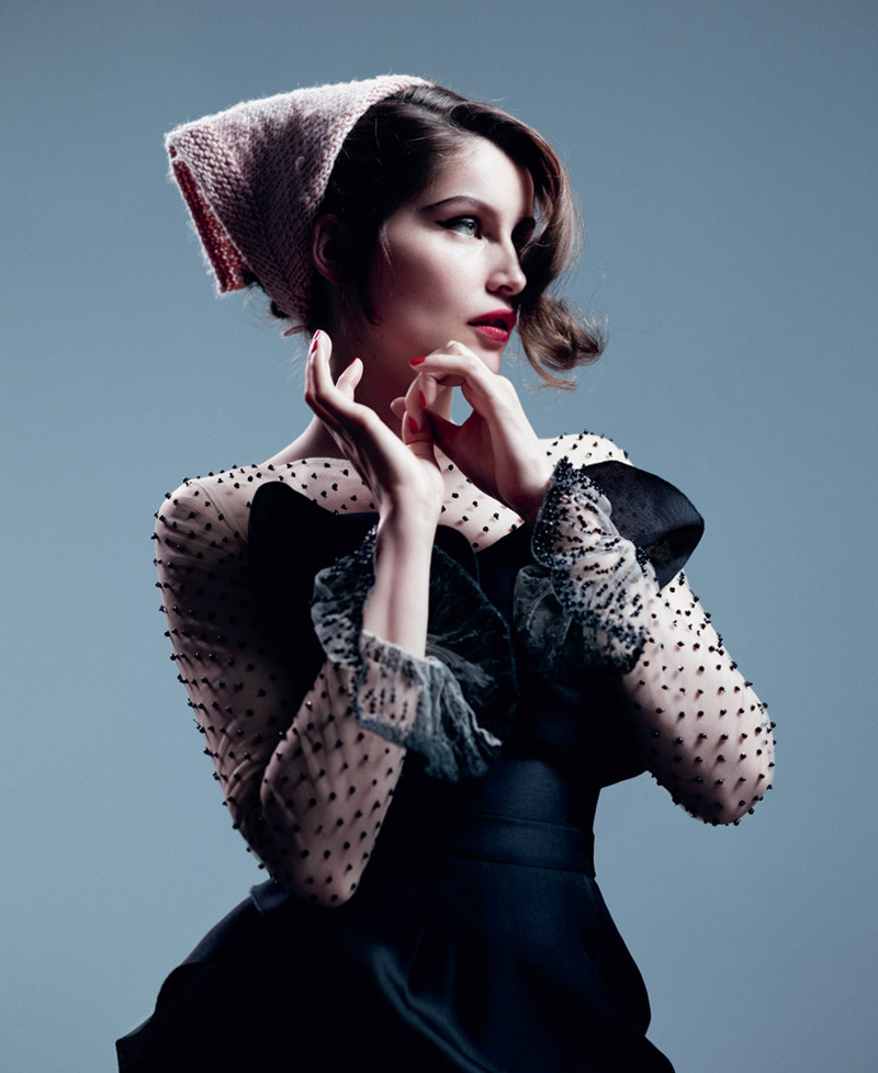 Laetitia Casta by Willy Vanderperre for T Magazine Fall 2010
