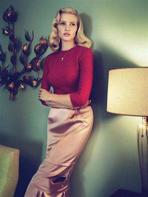 Lara Stone by Mert & Marcus for Vogue US September 2010