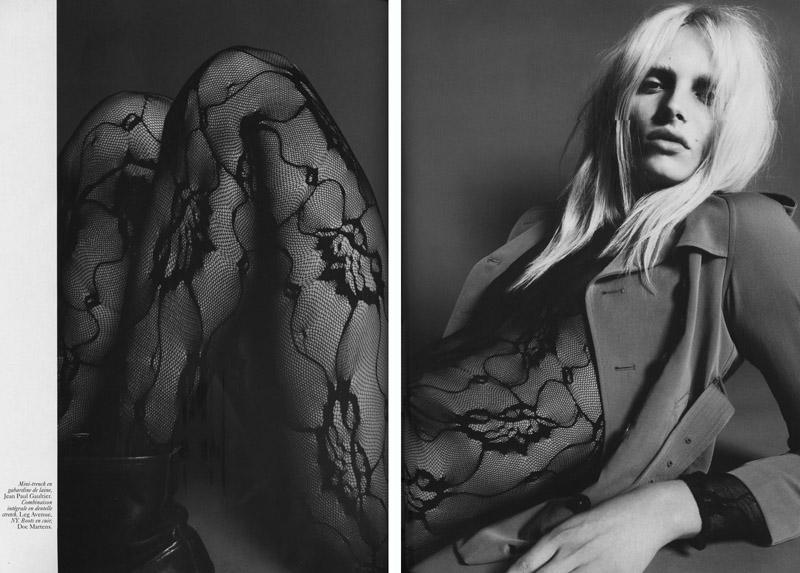 Malgosia Bela, Daphne Groeneveld & Lea T. by Mert & Marcus for Vogue Paris September 2010