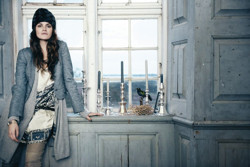 Missy Rayder by Ditte Isager for Day Birger et Mikkelsen Fall 2010 Campaign