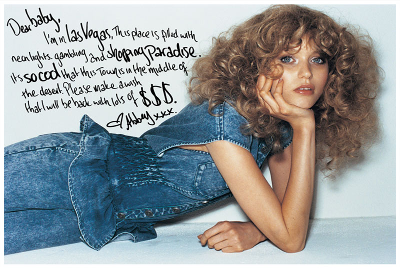 Abbey Lee Kershaw for Moussy Fall 2010 Campaign by Yasutomo Ebisu