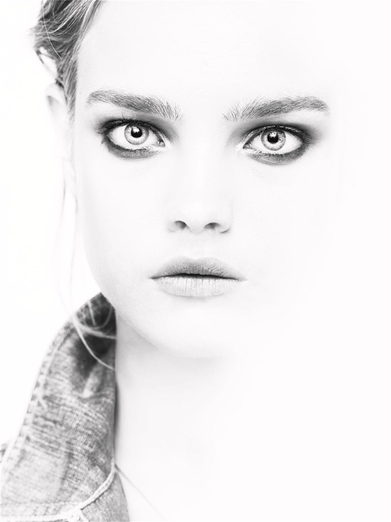 Morning Beauty | Natalia Vodianova by Steven Meisel