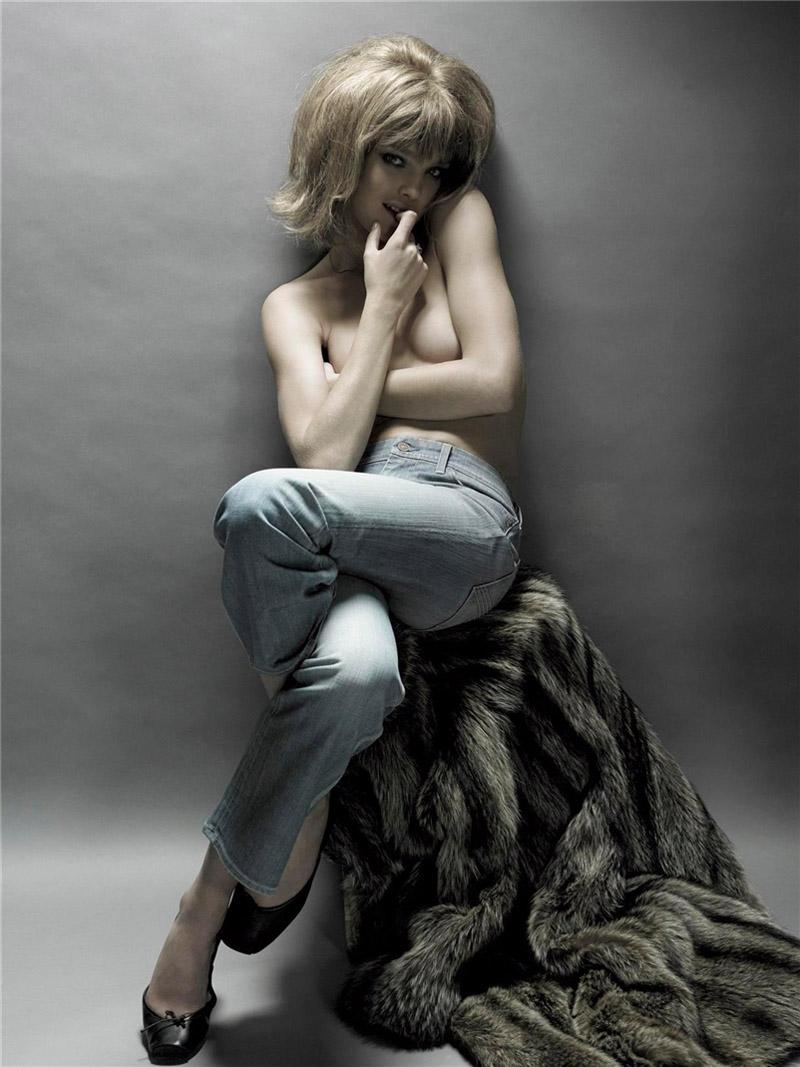 Morning Beauty   Natalia Vodianova by Steven Meisel
